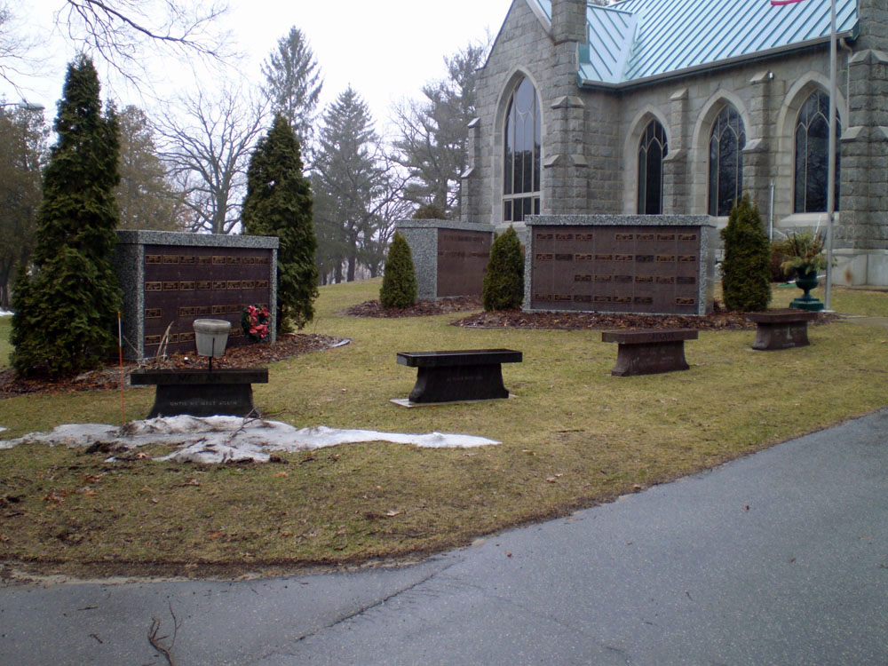 Oakwood Downtown Cemetery Columbariums