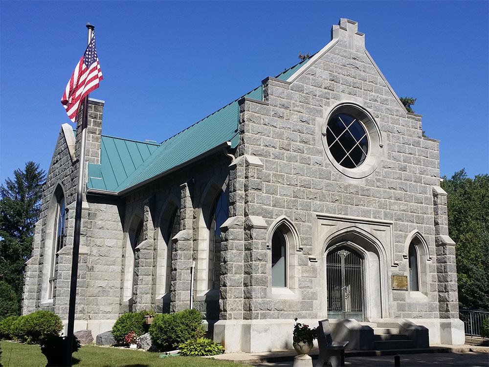 Oakwood Downtown Cemetery Chapel