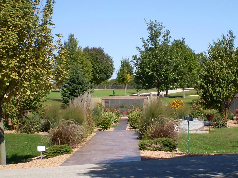 Oakwood East Cemetery Columbariums