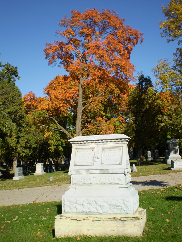 Oakwood Downtown Cemetery Marker